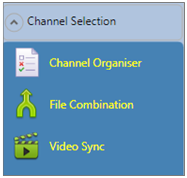VBOX-File-Processor Channel-Selection